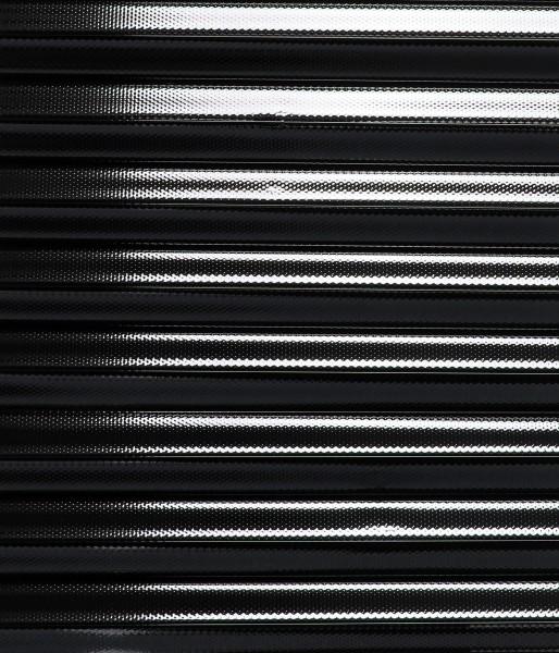 Folien-Plissee silber dunkel