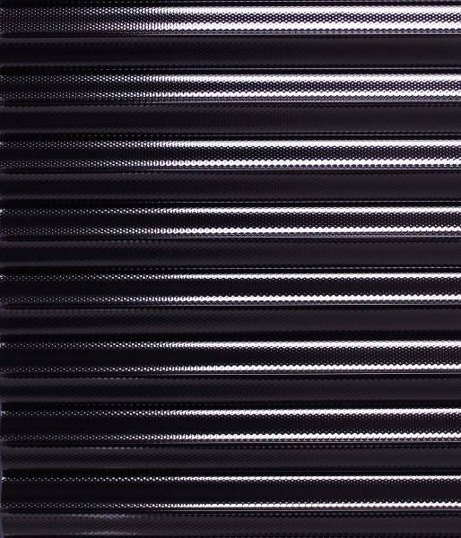 Folien-Plissee blau / silber