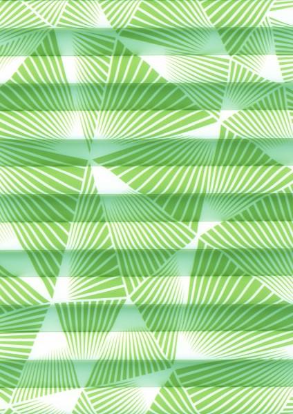 Triangle Perlmutt grün