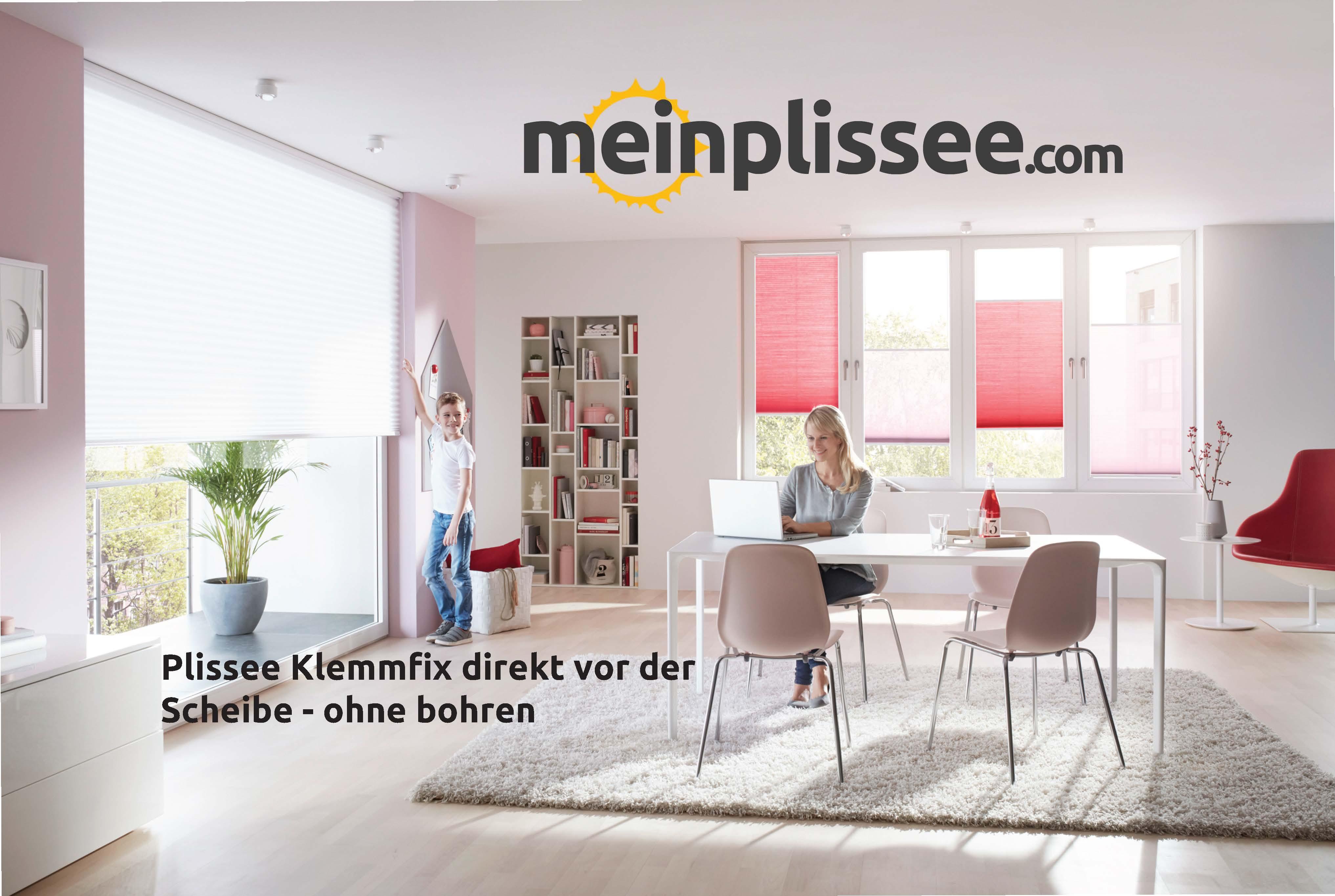 Plissee Montage Daheim Mit Klemmfix Ohne Bohren Mein Plissee