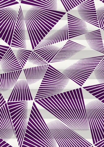 Triangle Perlmutt violett