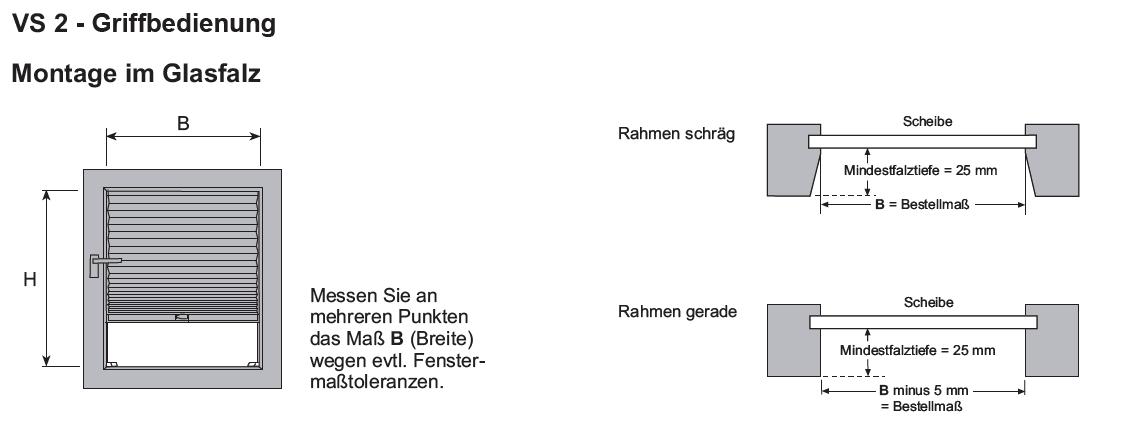 Aufmass-Plissee-Basicline